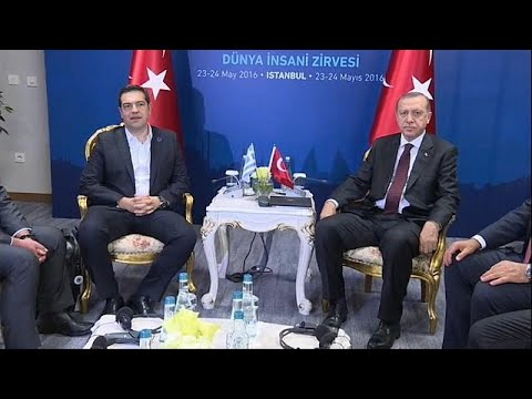 Greece, Turkey seek closer ties with Erdogan visit