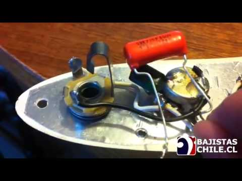 Circuito Jazz Bass Pasivo : Circuito pasivo y capacitores de tono youtube