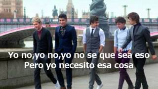 One Direction - One Thing (Traducida al Español)