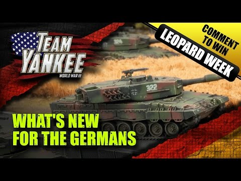 Team Yankee Leopard Week: New Germans Join World War III - New Units Explored