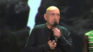 D23   Saturday   8/15 The Jungle Book   Sir Ben Kingsley and Bagheera HD