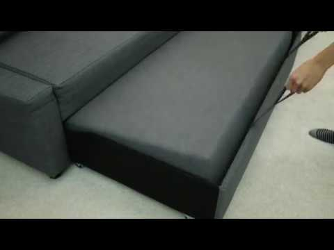 L Shaped Sofa With Storage Youtube