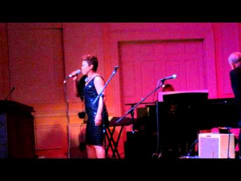 Elisabeth Withers sings for Bill Withers at Library of Congress Spring 2010