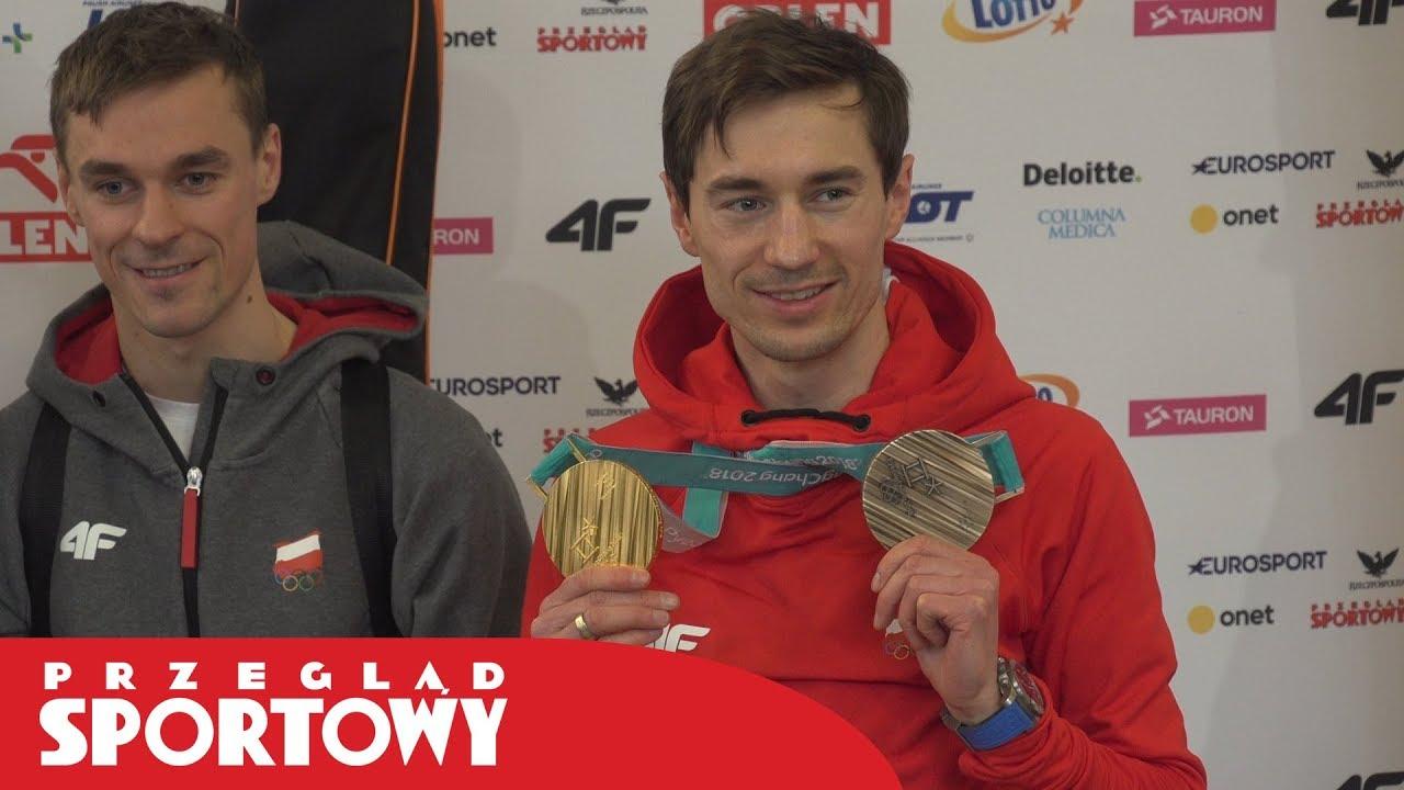 KAMIL STOCH pokazał wielką klasę! Przyłożył swój medal do Piotra Żyły!