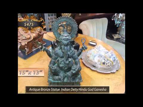 Antiques: Bronze Statues | Art | Porcelain | China | Objet D'art | Persian Carpets