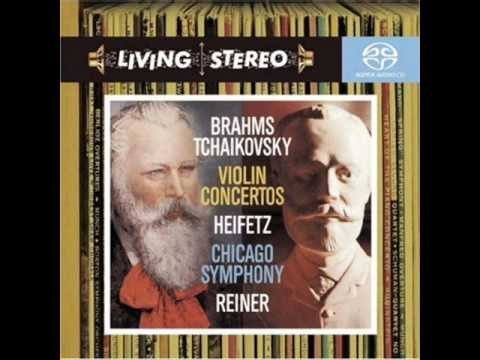 Jascha Heifetz Brahms Violin Concerto in D, op 77 : 2nd mov