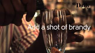 How to make a classic Champagne Cocktail | MyDaily Advent Calendar Thumbnail