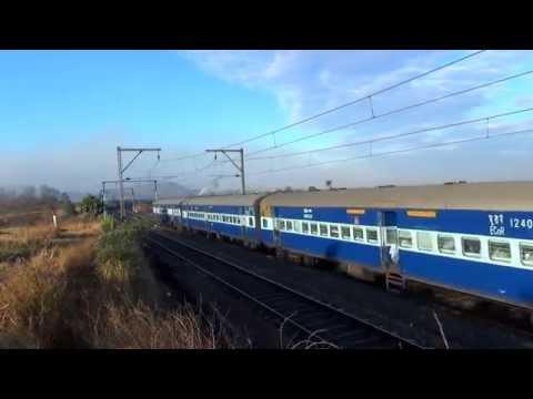 12859 Gitanjali Express Express Curving!!!!!!!