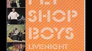 Happiness Is An Option - Pet Shop Boys - Livenight (Vol. 1)