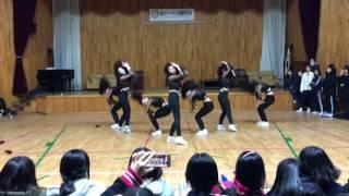 [20170316_순천여고 댄스동아리 딥앤핫 홍보공연]     Suncheon Girls' High School dance team
