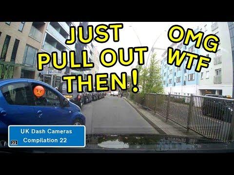 UK Dash Cameras - Compilation 22 - 2019 Bad Drivers, Crashes + Close Calls