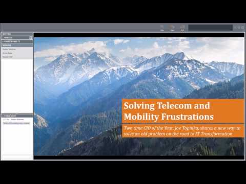 [WEBINAR ] How to Solve Telecom and Mobility Frustrations 2-22-17