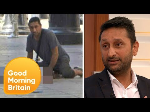 British Hero of Barcelona | Good Morning Britain