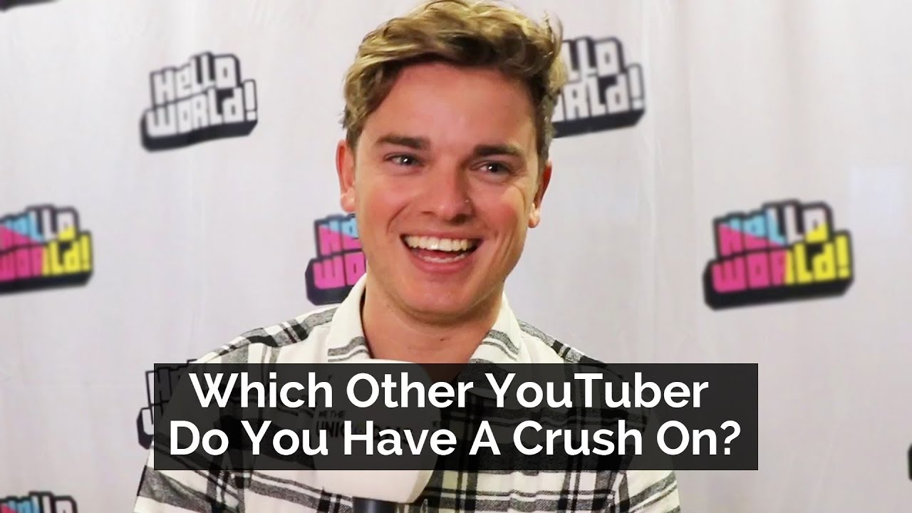 i have a crush on a youtuber