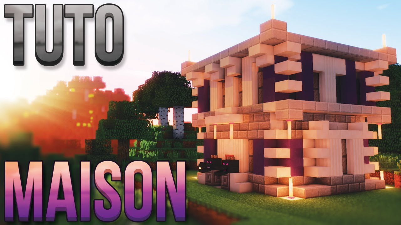 Tuto Maison L Gendaire Minecraft Youtube