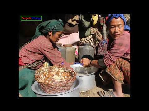 Making alcohol in primitive way ll Primitive technology ll