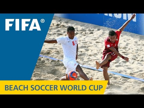 FINAL HIGHLIGHTS: Tahiti v. Portugal - FIFA Beach Soccer World Cup 2015