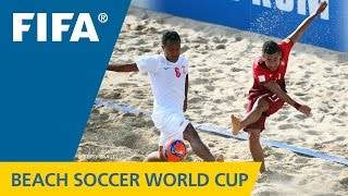 FINAL HIGHLIGHTS: Tahiti v. Portugal - FIFA Beach Soccer World Cup 2015