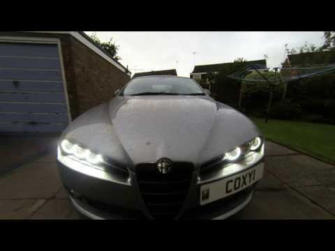 Alfa Romeo 159 Halo test