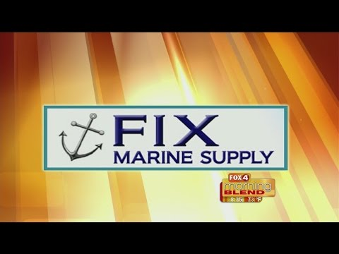 Marine Minute - Fix Marine Supply: How to maintain your boat lift 05/04/2015