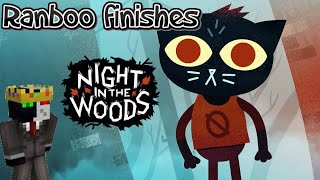 Ranboo Finishes Night In The Woods! (5-6-2021) VOD