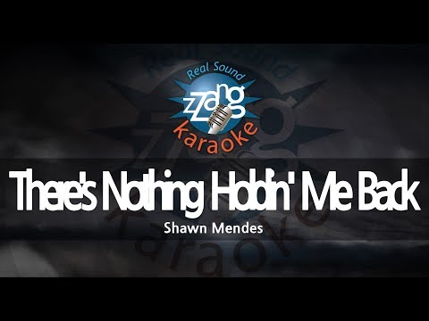 Shawn Mendes-There's Nothing Holdin' Me Back (Melody) (Karaoke Version) [ZZang KARAOKE]