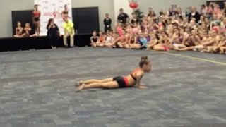 mackenzie ziegler performing out of my mind at aldc masterclass melbourne