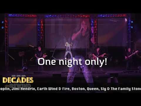 Rewind Theatrical Concert - Rialto Square - Joliet, IL