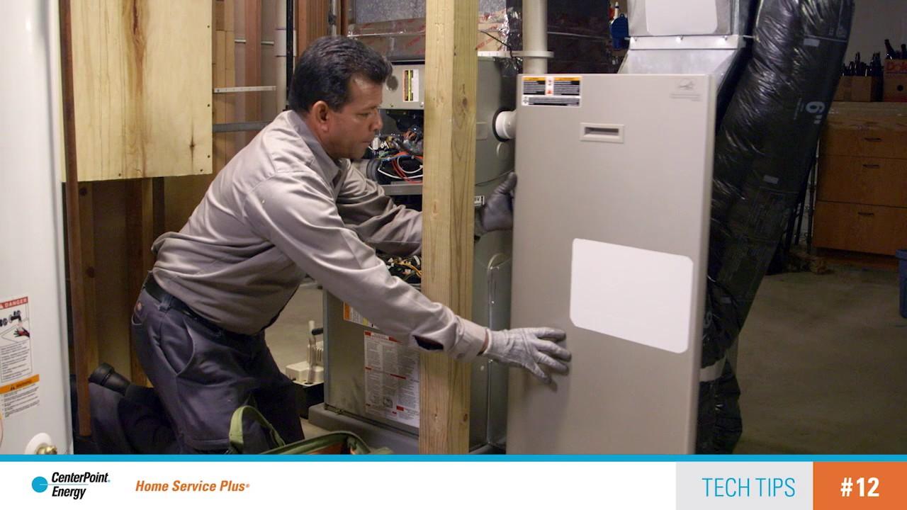 Home Service Plus tech tip furnace maintenance