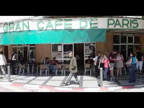 Gran Cafe De Paris: Tangier Morocco     SAM 1909