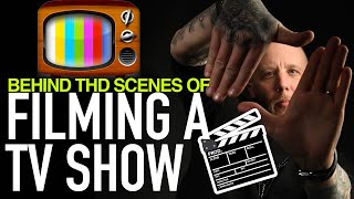 Behind The Scenes of Filming a TV Show