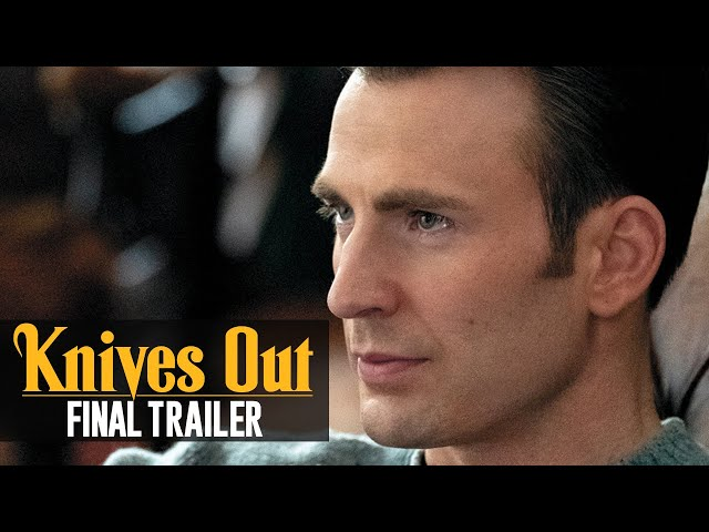 Knives Out (2019 Movie) Final Trailer - Daniel Craig, Chris Evans, Ana de Armas