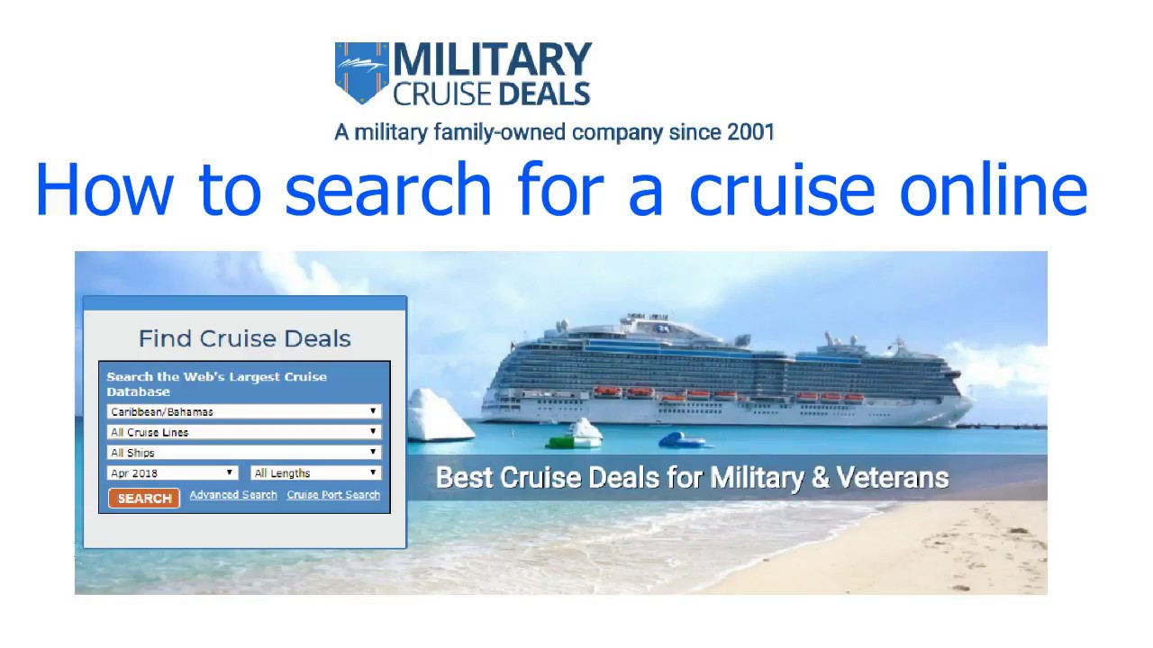 We're saluting our soldiers — check the calendar below to find Carnival's best Military fares, by date, for any stateroom type, departure port or destination. Then select the date for the day's top sailings.