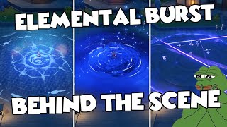 All Elemental Burst Behind The Scene | Far View Burst Animation