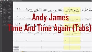 Andy James - Time And Time Again (Guitar Tabs)