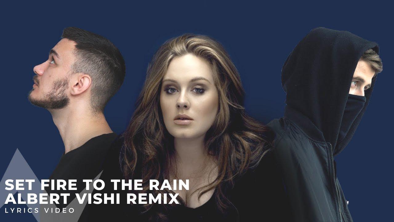 Alan Walker Style , Adele - Set Fire To The Rain (Albert Vishi Remix)