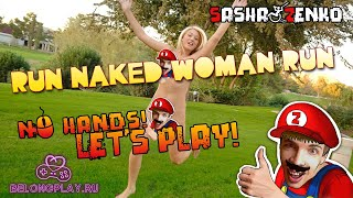 Run Naked Woman Run Gameplay (Chin & Mouse Only)