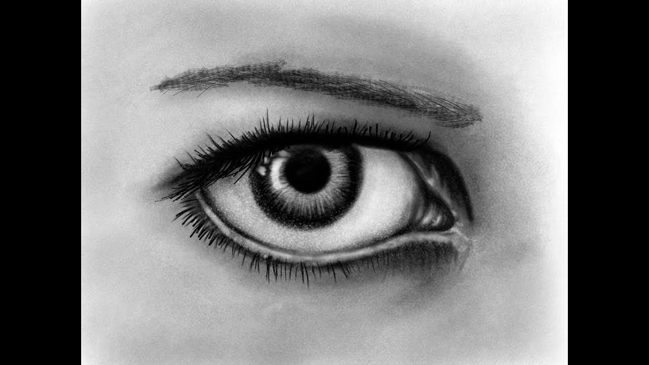 Amazing Realistic Eye Sketch *New IPad Mini*