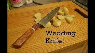 Forging a Japanese Inspired Kitchen / Wedding Knife