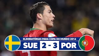 Sweden vs Portugal 2-3 narration Nuno Matos Radio Antena - 1 Portugal 2013