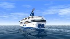VSF Tallink MS Silja Europa Turku Mariehamn Tukholma