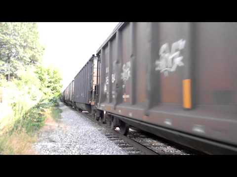 csx freight west thru rockville maryland