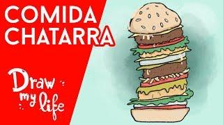 ¿Por qué nos GUSTA TANTO la COMIDA CHATARRA? - Draw My Life en Español
