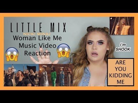 Little Mix - Woman Like Me (Official Video) ft. Nicki Minaj REACTION - Elise Wheeler