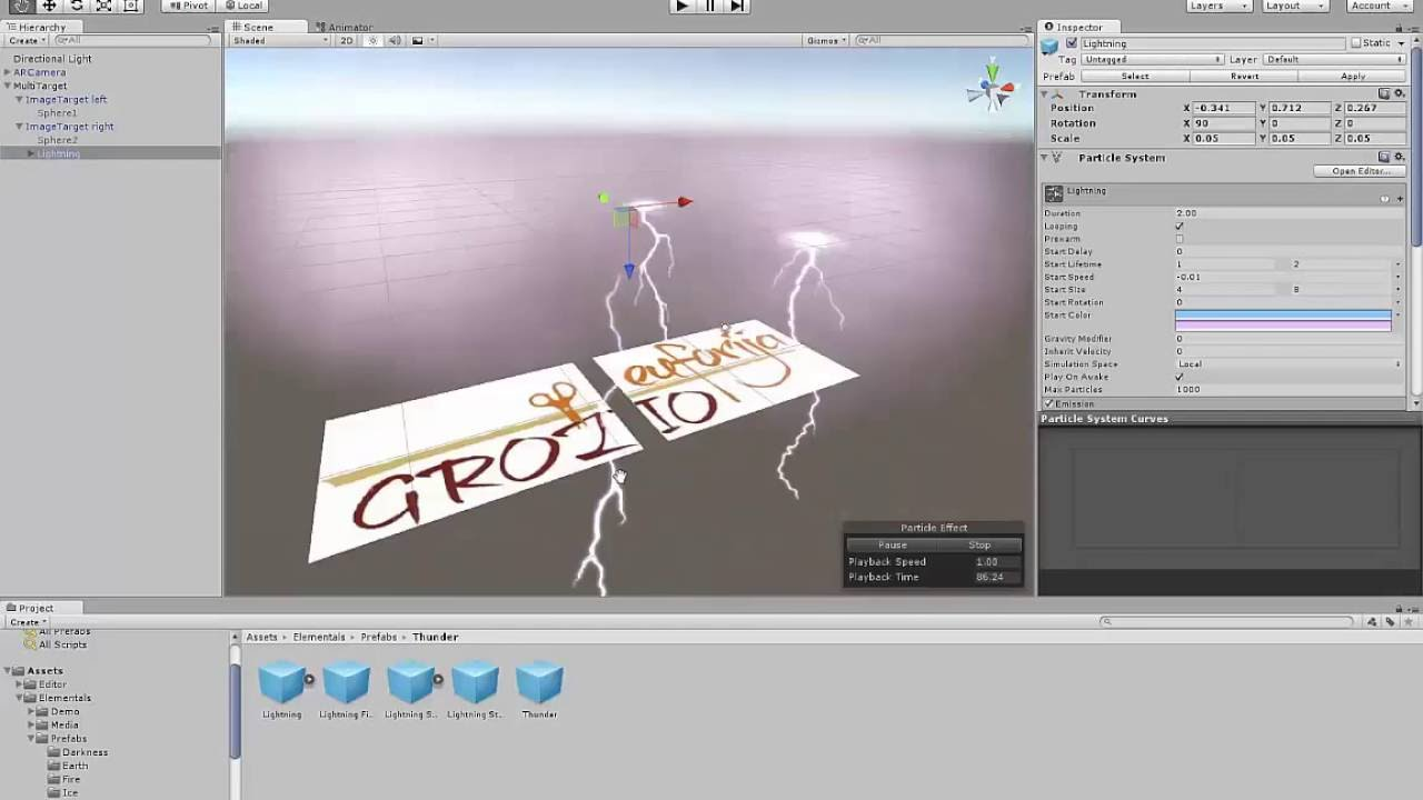 unity3d augmented reality tutorial pdf