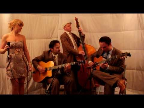 Bei Mir Bist Du Schoen - Jonny Hepbir Trio with Sara Oschlag - Gypsy Swing Jazz Band Hire UK