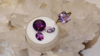 Amethyst-Gem Identification