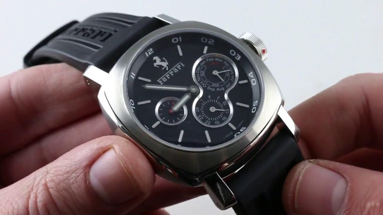 c7faa04d19e Pre-Owned Panerai Ferrari Perpetual Calendar FER015 Luxury Watch Review