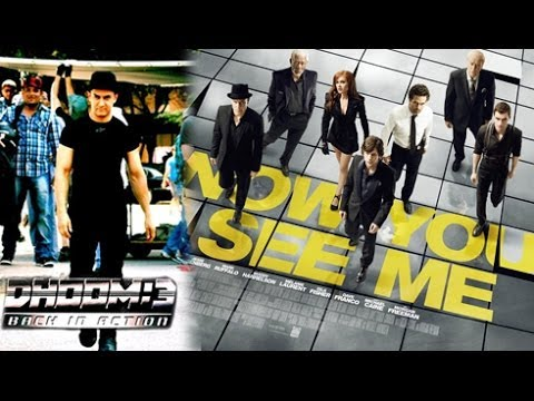 Dhoom 3 A Rip Off Of A Hollywood Film Now You See Me ?