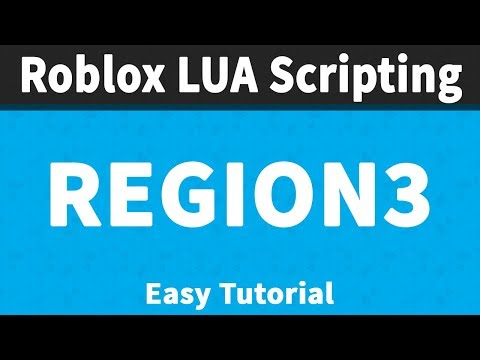 Working With Region3 | Roblox Scripting Tutorials 📜📜 - YouTube